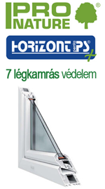 7 légkamrás műanyag ablak